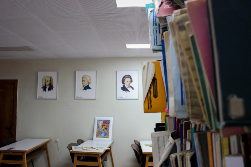 Відділ літератури з питань мистецтва. Фото Юлії Тарадюк