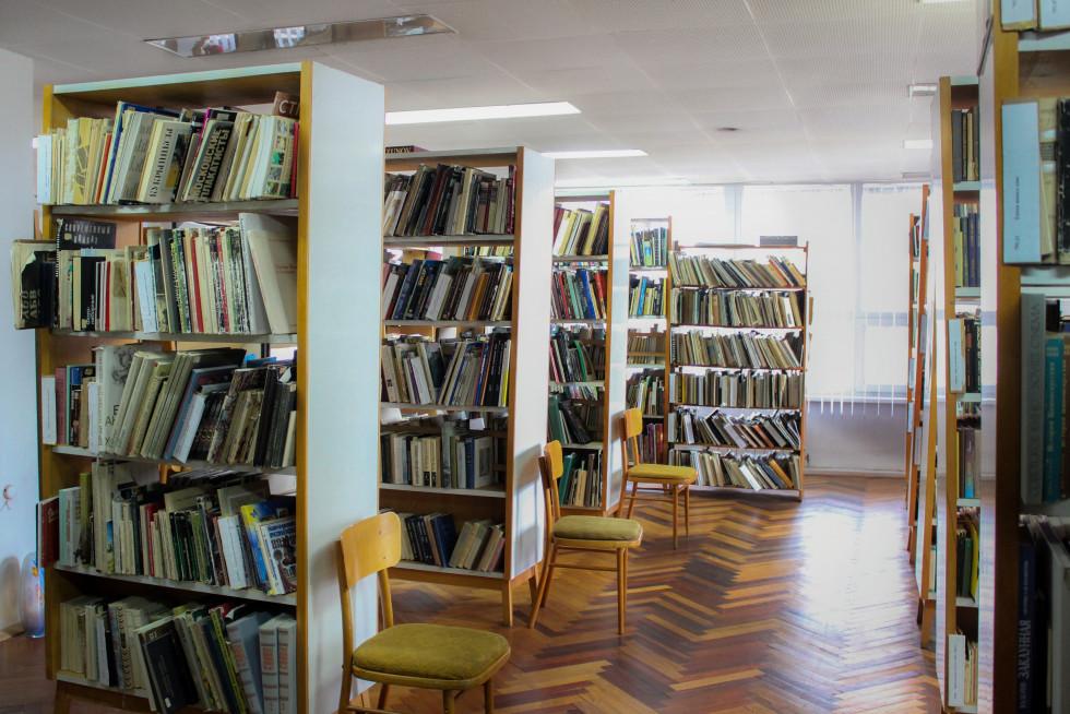 Книгозбірня відділу літератури з питань мистецтва. Фото Юлії Тарадюк