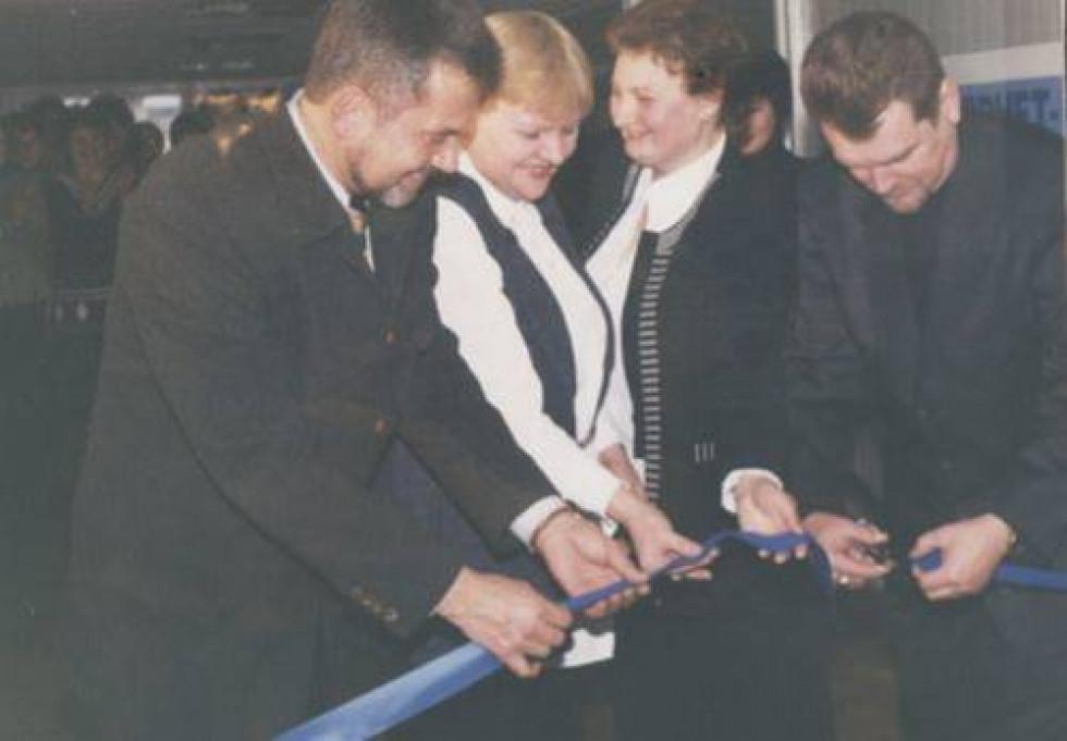 Відкриття інтернет-центру. Фото з архіву бібліотеки