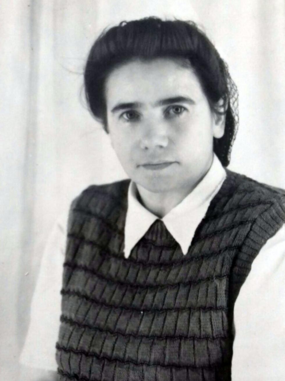 Лідія Кушнірук-Жуменко, 1956 р.