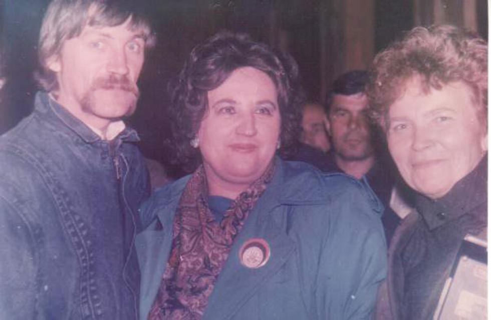 Марічка Галабурда-Чигрин в Україні, 1990 р.