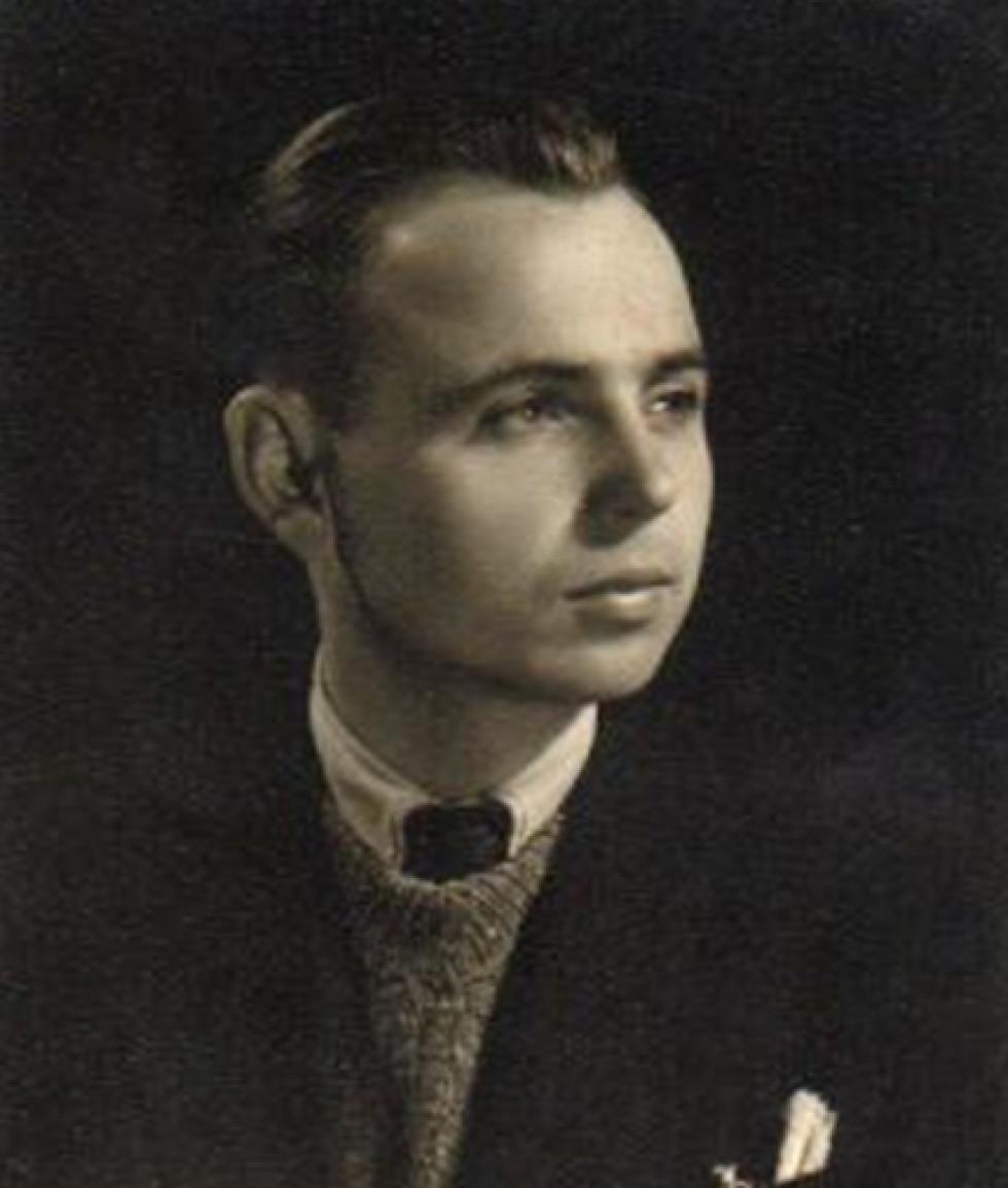 Михайло Чигрин під час навчання у Загребі